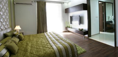 habitat crest villament-bedroom